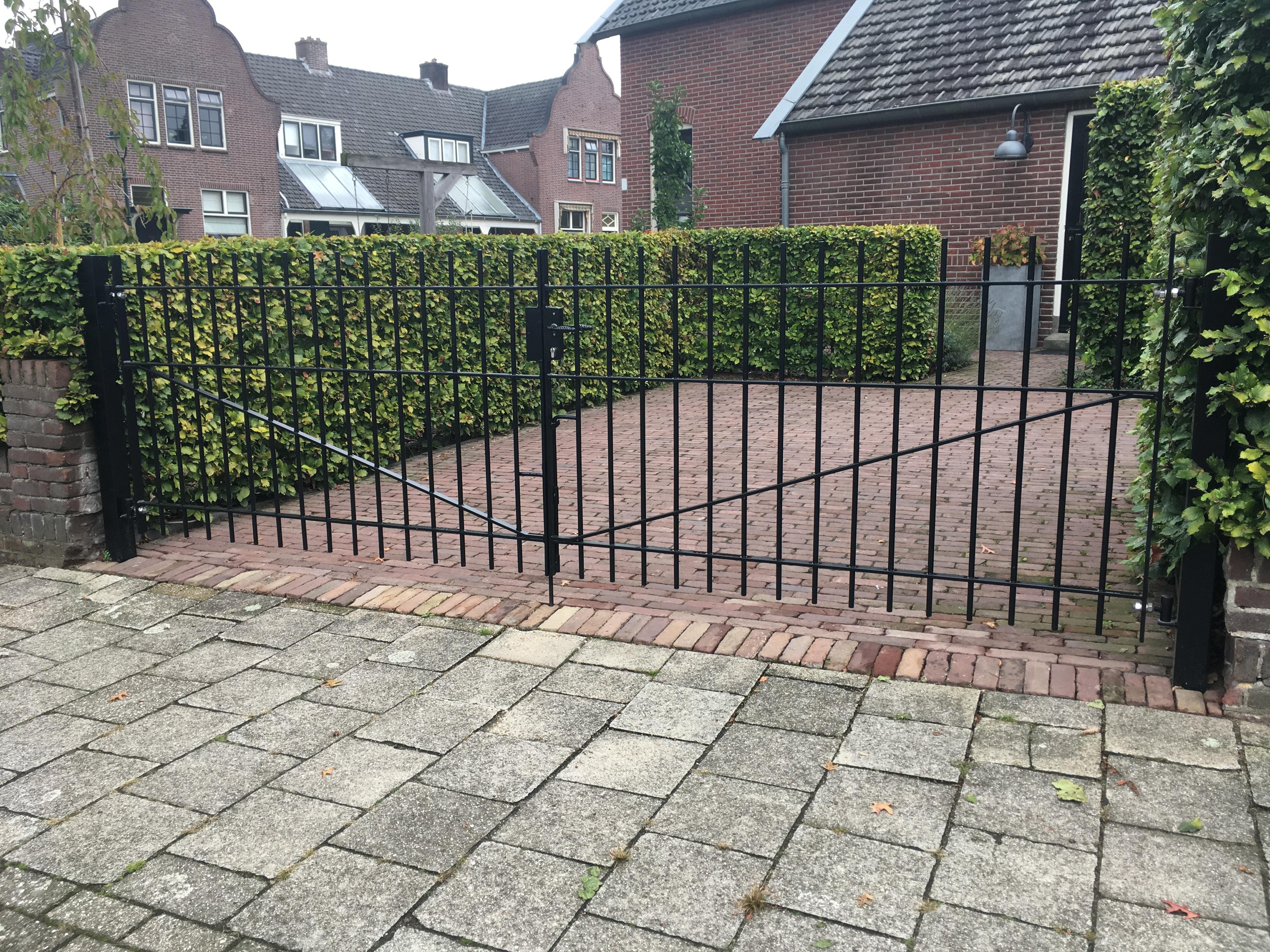 poort dubbele poort